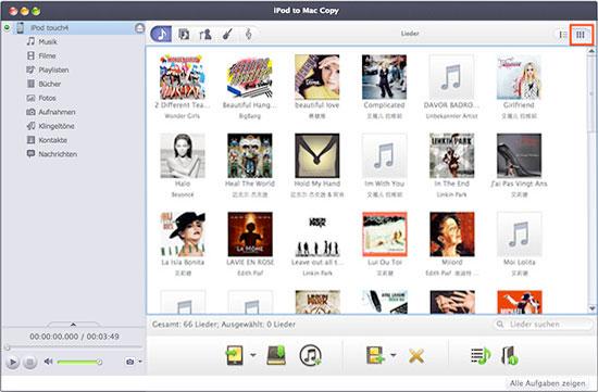 Xilisoft iPod to Mac Copy Tutorial