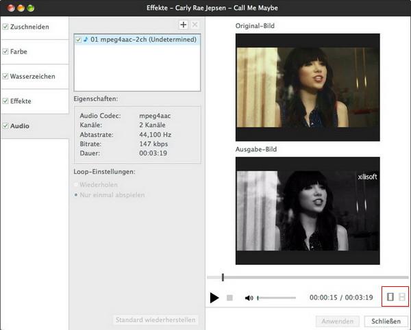 Unter Mac Video umwandeln